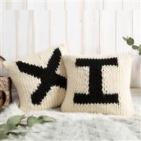Wool Couture Personalised Cushion Knitting Kit