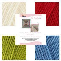 The Crafty Co Crochet Series One BOM Blanket Kit