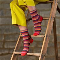 WYS Zandra Rhodes Lottie Ankle Socks