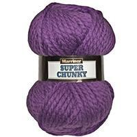 Marriner Violet Super Chunky Yarn 100g