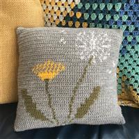 Adventures in Crafting Dandelion Tapestry Crochet Cushion Kit