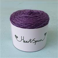 Woolly Chic Purple HeartSpun 4 Ply Yarn 25g