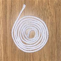 3mm White Piping Cord 1m Pre-cut Length