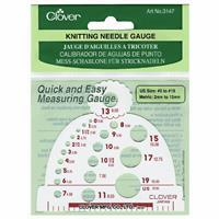 Knitting Needle Gauge