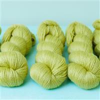 Woolly Chic Fern Green HeartSpun 4 Ply Yarn 100g