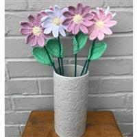 Adventures in Crafting Daisies Bouquet Crochet Kit