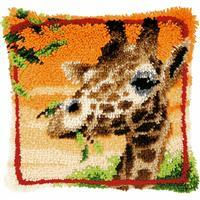 Giraffe Latch Hook Cushion Kit