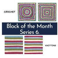 The Crafty Co Knitting Series Six BOM Blanket Kit