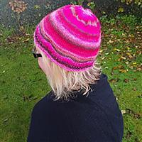 Anniken Allis Blue Sparkle Beaded Henwood Hat Kit
