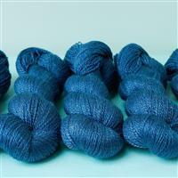 Woolly Chic Denim Blue HeartSpun 4 Ply Yarn 100g
