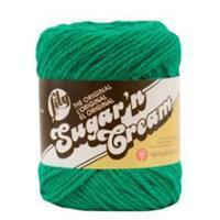 Lily Sugar n Cream Mod Green Aran Yarn 56g