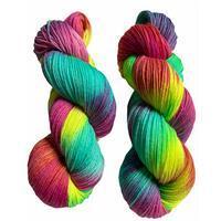 Twink Knits Rainbow Brights 4 Ply Yarn 100g