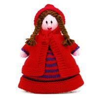Little Red Riding Hood Topsy-Turvy  Knitted Doll Yarn Pack