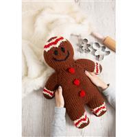 Wool Couture Gingerbread Man Cushion Knitting Kit