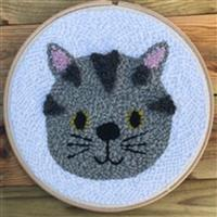 Adventures in Crafting Cat Punch Needle Kit