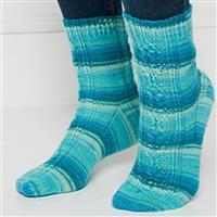 Winwick Mum Love Spoon sock pattern