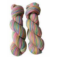 Twink Knits Pastel Rainbow Sparkle 4 Ply Yarn 100g