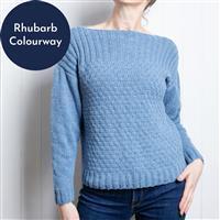 Wool Couture Rhubarb Summer Jumper Knitting Kit: Small/Medium