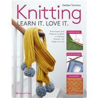 Knitting Learn It. Love It. Book by Debbie Tomkies SAVE 20%
