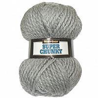 Marriner Grey Super Chunky Yarn 100g