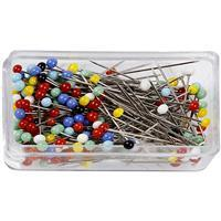 Assorted Coloured Pins (31mm) Pack of 200