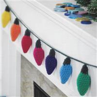 Fairy Lights Garland Crochet Kit