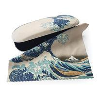 The Great Wave off Kanagawa Glasses Case & Lens Cloth
