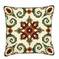 Geometric Needlepoint Cushion Kit