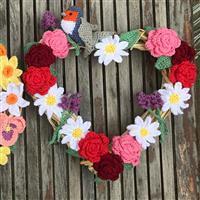 Adventures in Crafting Summer Wreath Crochet Kit