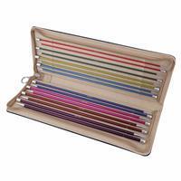 Zing Knitting Pins Single-Ended Set 30cm length