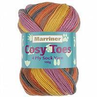 Marriner Meerkat Cosy Toes 4 Ply Yarn 100g