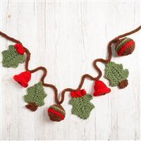 Wool Couture Christmas Garland Knitting Kit