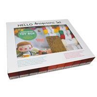 HELLO Crochet Project Set; Lana Chou Designer Amigurumi Gift Set