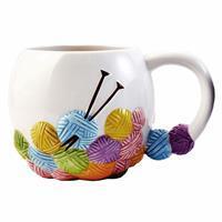 Yarn Lane  Special - Knitting Design Mug. Save £2