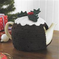 Christmas Pudding Tea Cosy Crochet Kit