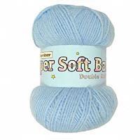 Marriner Pale Blue Baby DK Yarn 100g