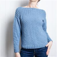 Wool Couture River Summer Jumper Knitting Kit: Large/Xlarge