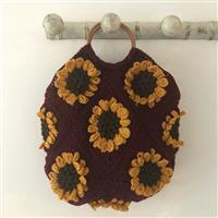 Adventures in Crafting Conker Field of Sunflowers Granny Square Bag Kit