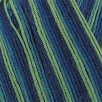 WYS Blue Lagoon Signature 4 ply yarn 100g