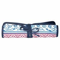Navy Needle Case Double Pointed