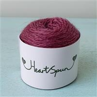 Woolly Chic Raspberry HeartSpun 4 Ply Yarn 25g
