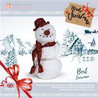 Knitty Critters Bert Snowman Kit