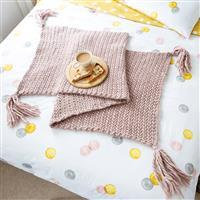 Wool Couture Mink Herringbone Blanket Knitting Kit
