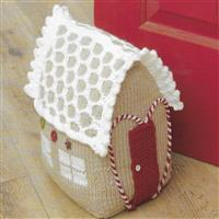 Gingerbread House Doorstop Knitting Kit