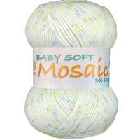 Marriner Sugar Baby Soft Mosaic DK Yarn 100g