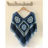 Adventures in Crafting Surf Summer Nights Crochet Poncho  Kit