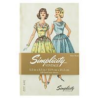 Simplicity Vintage Hardcover Notebook/Journal Pattern