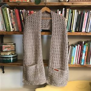 Adventures in Crafting Parchment Pocket Scarf Kit
