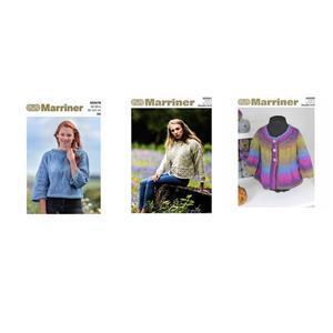 Ladies DK Knitting Patterns: Pack of 3