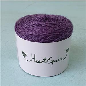 Woolly Chic HeartSpun 4 Ply Yarn 25g Purple